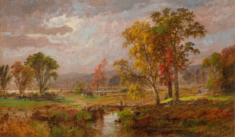 Cropsey... Autumn Landscape