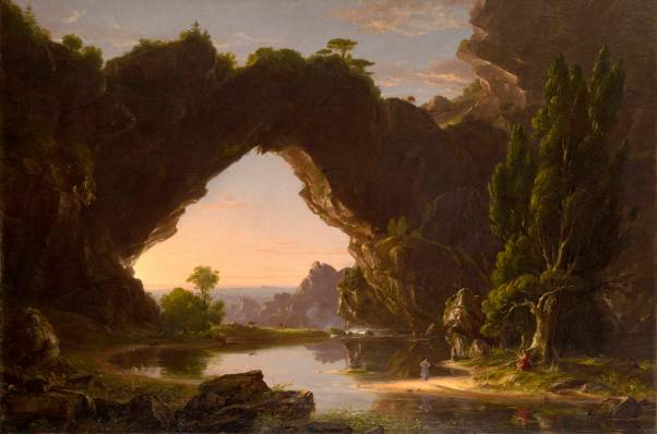 Thomas Clove, Evening in Arcadia, 1830s [https://blueridgeimpressions.files.wordpress.com]