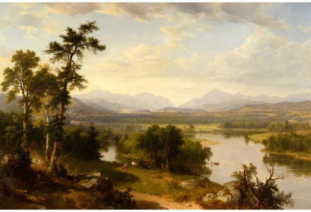 Franconia Notch by Durand