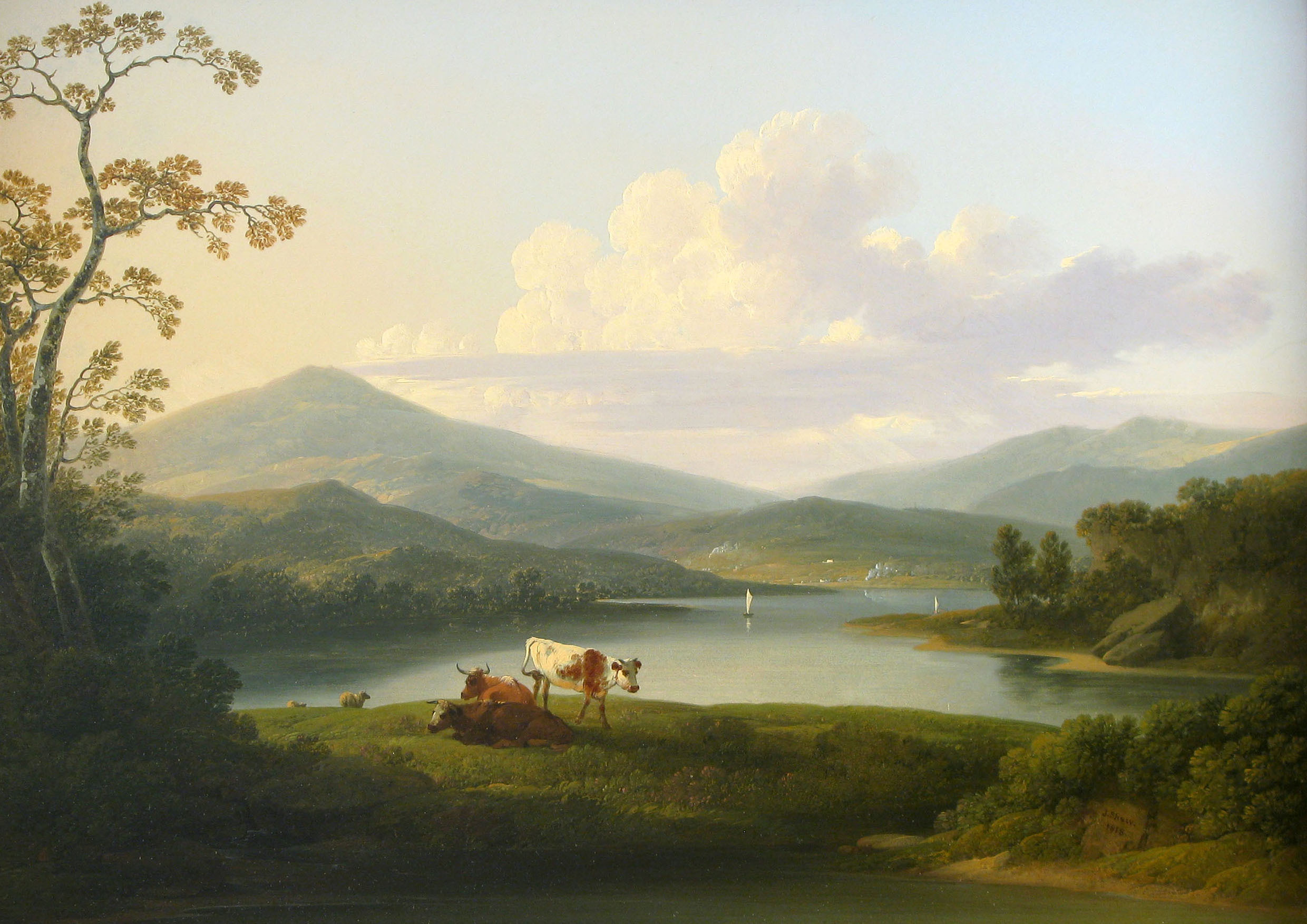 American Landscape Paintings Of The 19th Century Living In The
