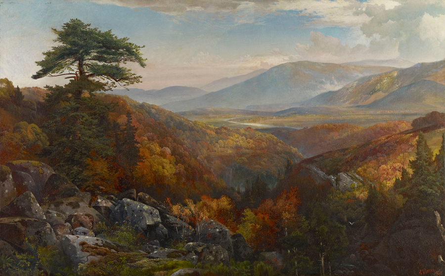 American Landscape Paintings of the 19th Century | Living in The ...