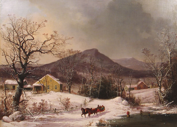 George Henry Durrie 1860