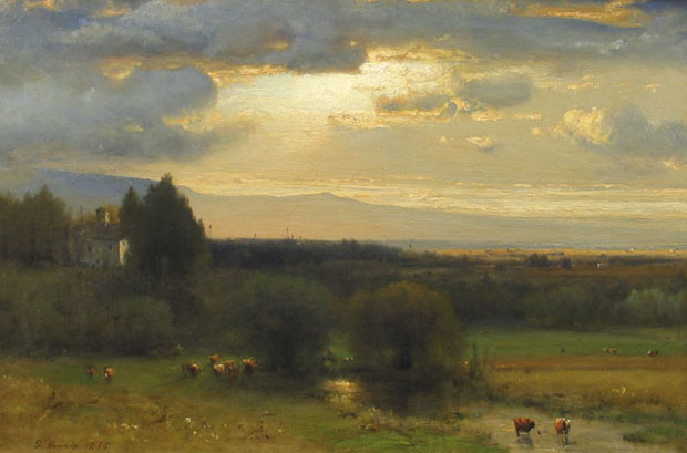 george inness Hudson Valley