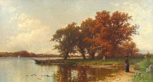Alfred Thompson Bricher Long Island