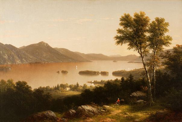 John William Casilear Lake George