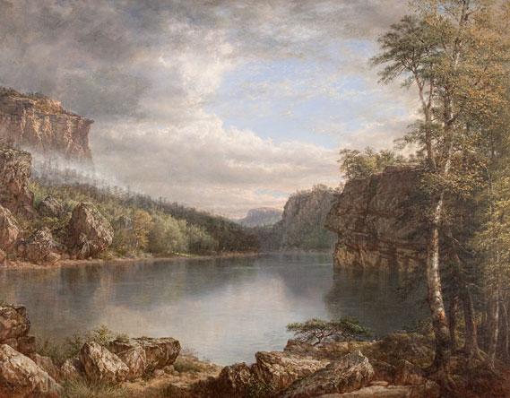 Daniel Huntington Lake Mohonk