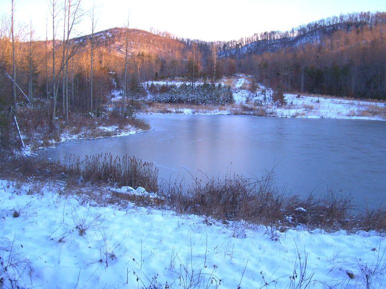 Otter Pond Snow