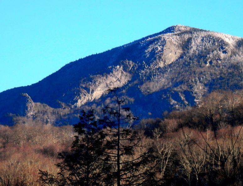 Grandfather Mountain Snow
