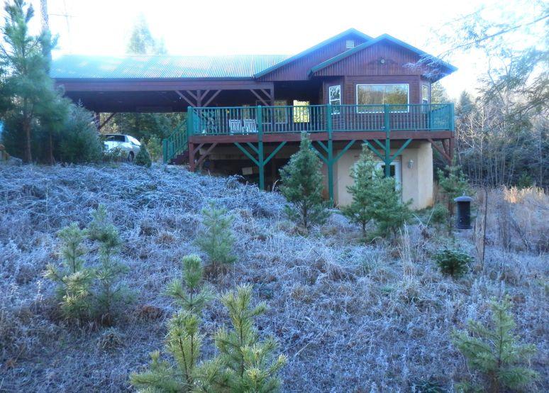 Frosty Hemlock House
