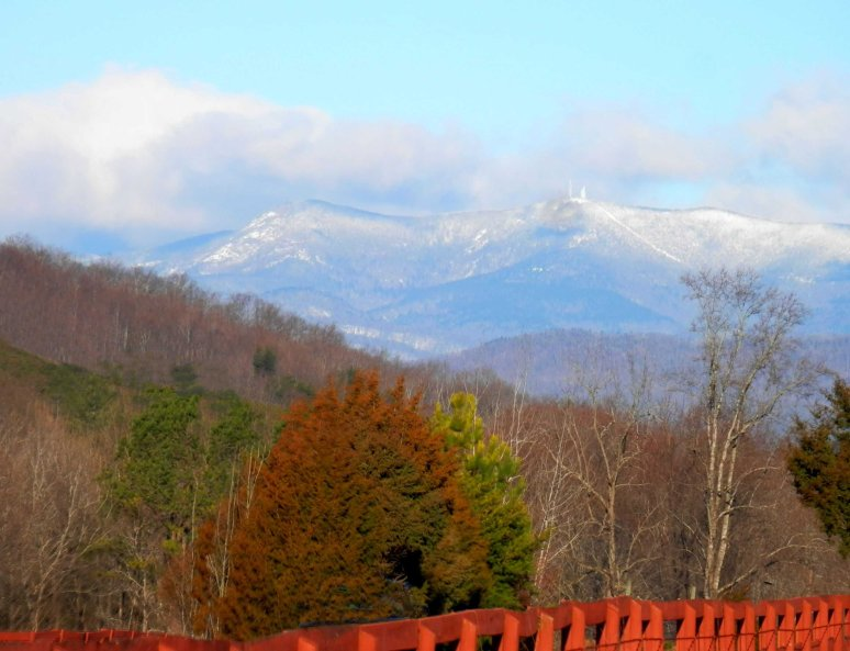 Mt. Mitchell in Snow