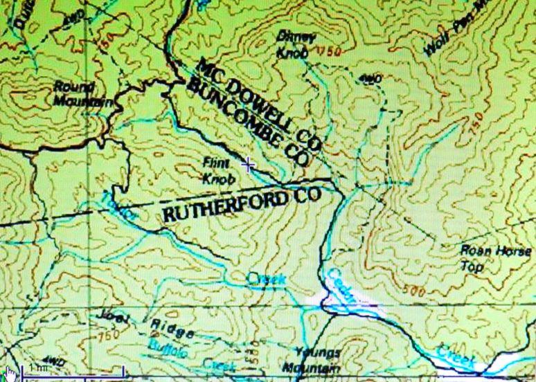 Cedar Creek Map