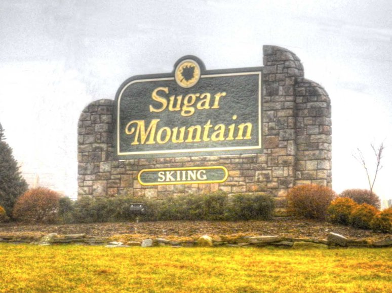 Sugar Mountain Sign