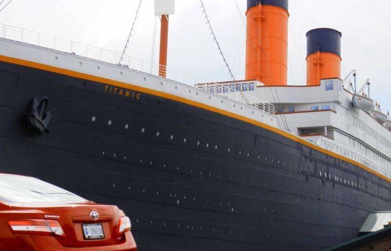 Titanic in Pigeon Forge