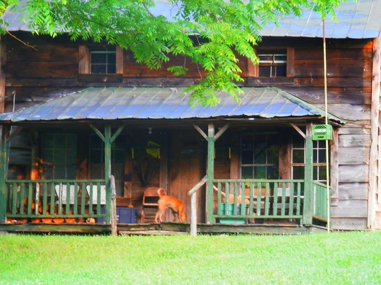 Otter Creek Homestead Porch
