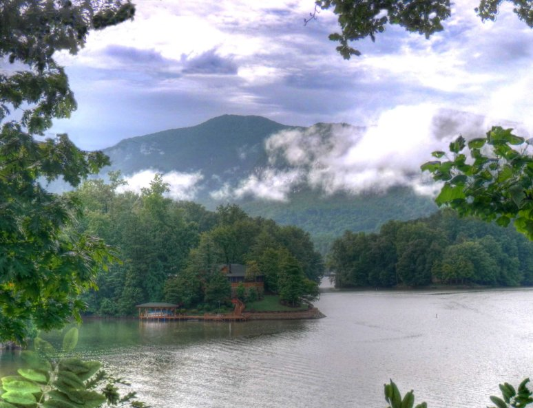 Lake Lure After Rain