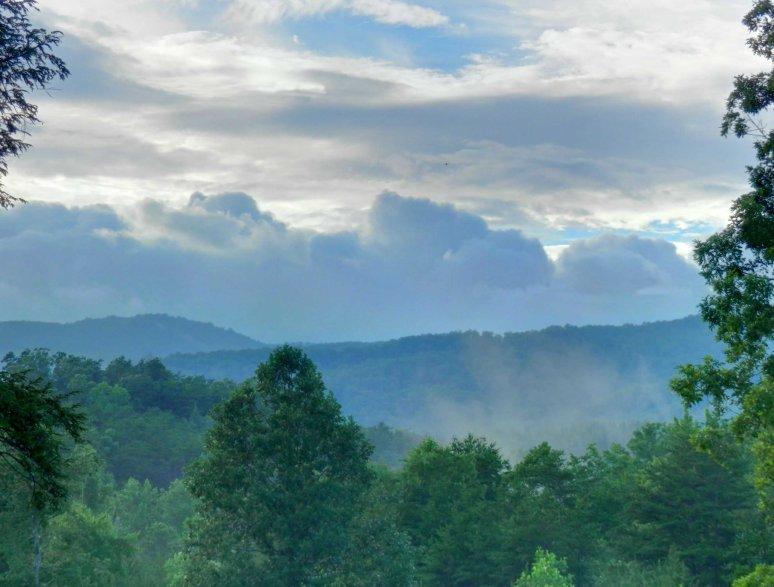 Wolf Pen Mountain Sunset