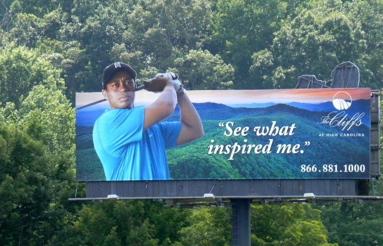 Tiger Woods Inspires