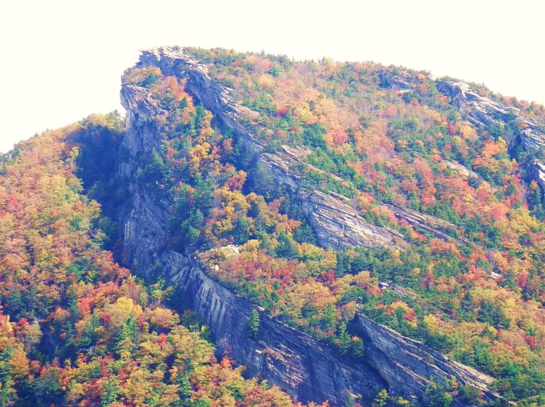 Hawksbill Mountain Color