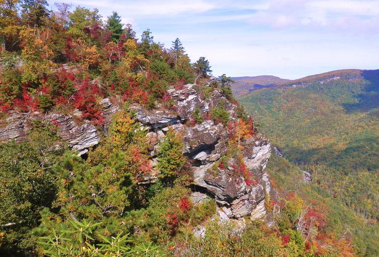 Linville Gorge Cliffs