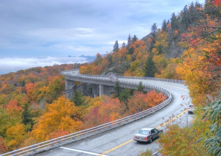 Linn Cove Viaduct Autumn