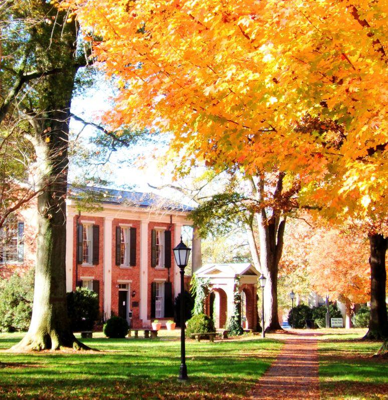 Davidson College Quad