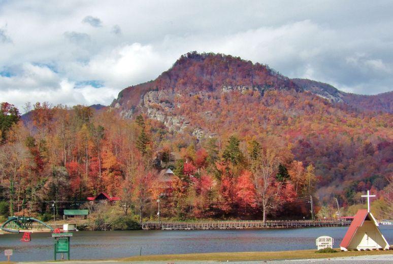 Lake Lure Autumn