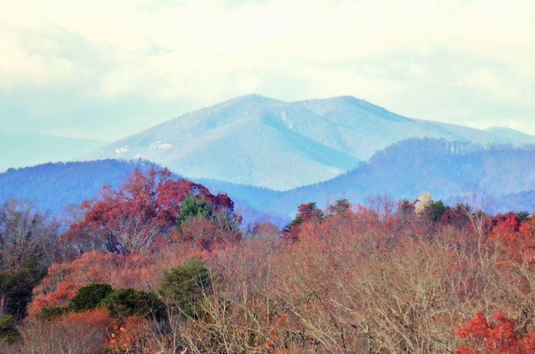 Toward Marion North Carolina