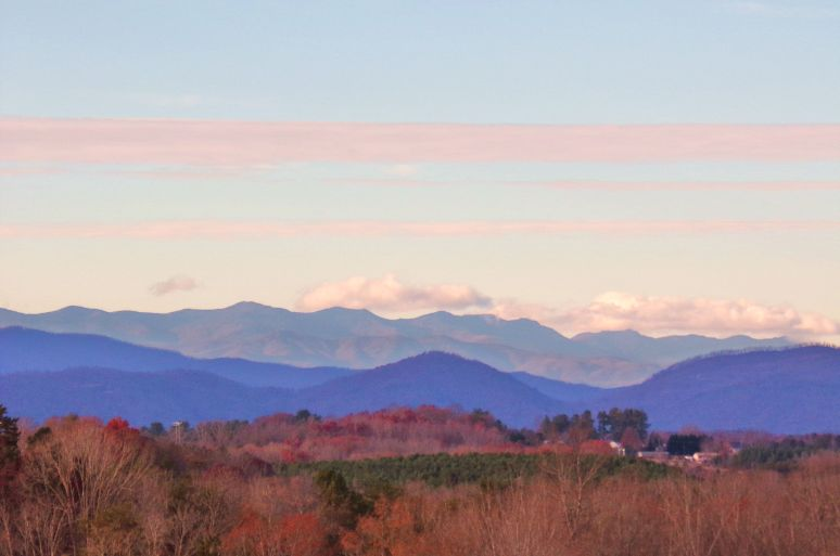 Black Mountains from Rutherfordton