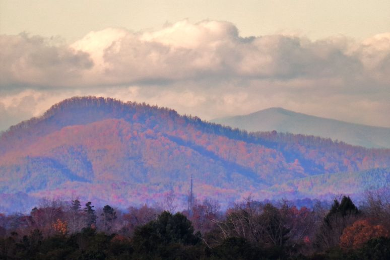 Mike's Mountain near Queen's Gap in Rutherford County