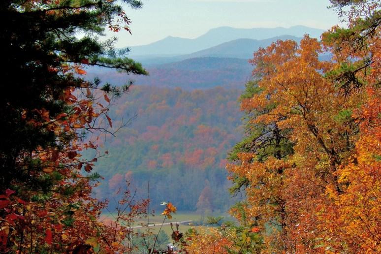 Tryon Peak in autumn