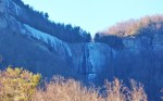 Hickory Nut Falls in Shadow