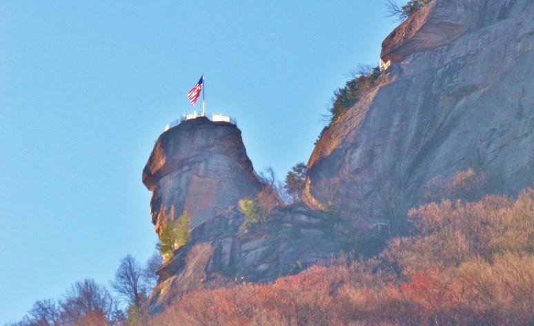 Sunrise at Chimney Rock
