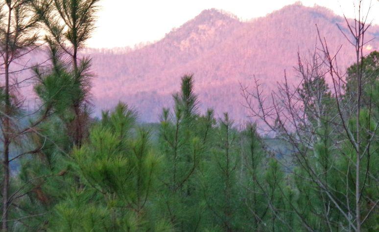 Pinnacle Mountain Sunset