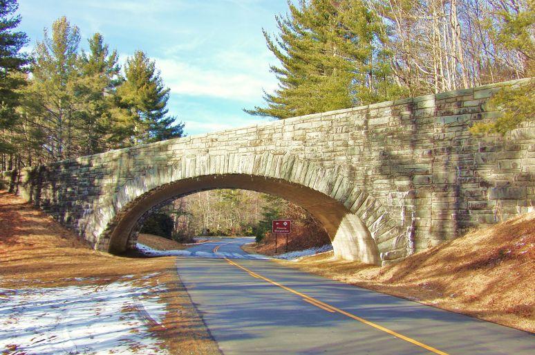 Blue Ridge Parkway Stone Viaduct