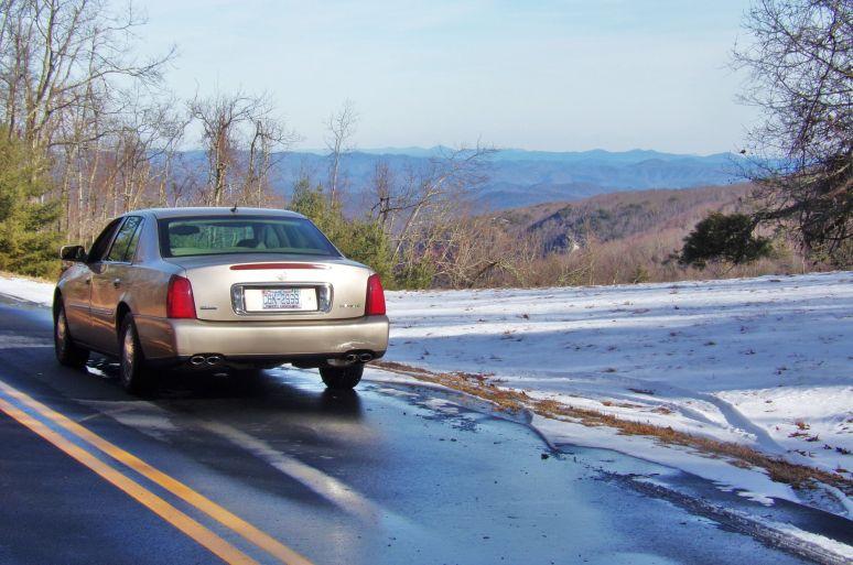 Blue Ridge Parkway Cadillac