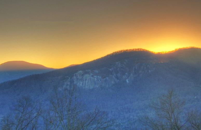 Rumbling Bald Sunset