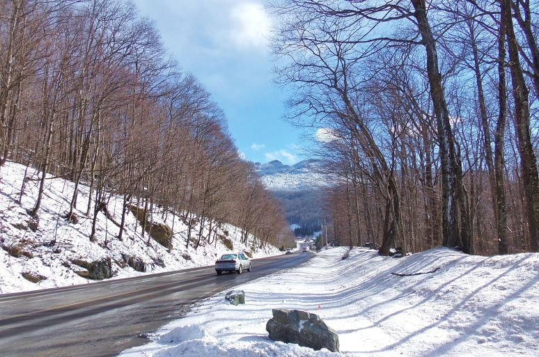 Road to Grandfather Mountain