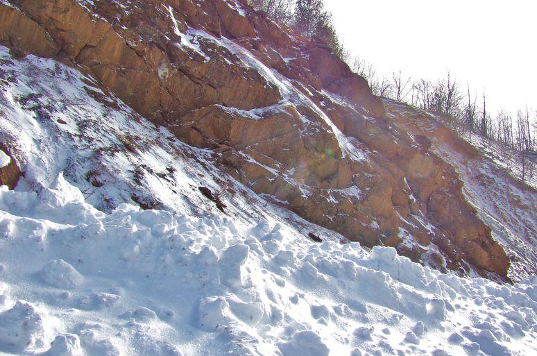 Banner Elk Snow Scene