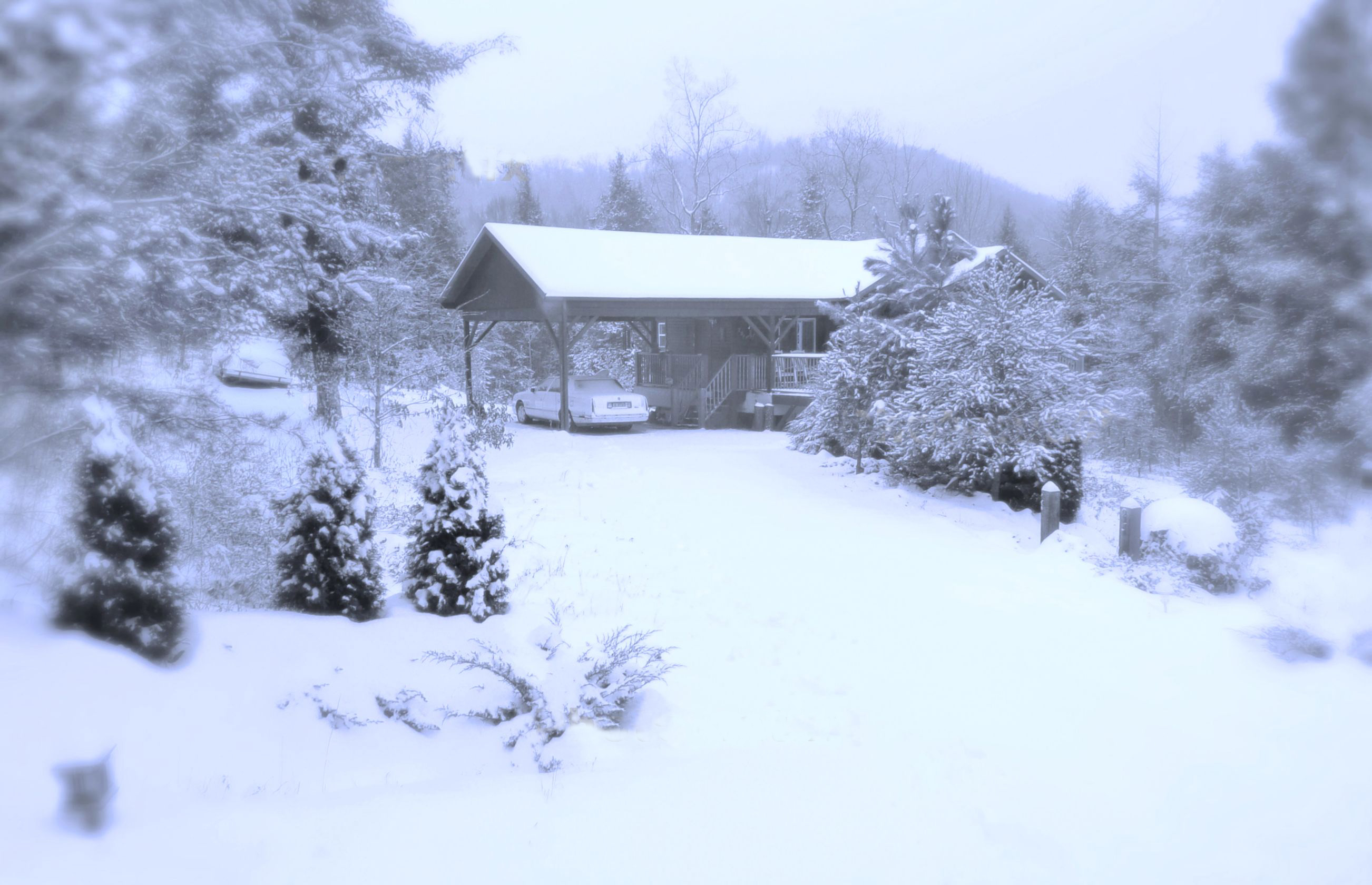 Major Snow Along The Blue Ridge Escarpment Living In The
