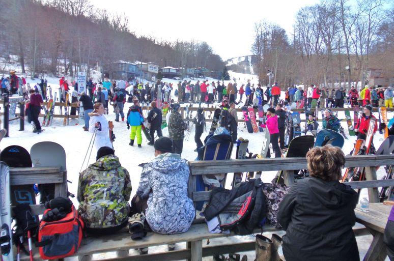 Sugar Mountain Crowds
