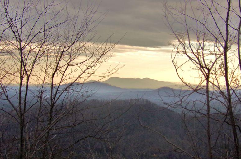 Tryon Mountain Sunset