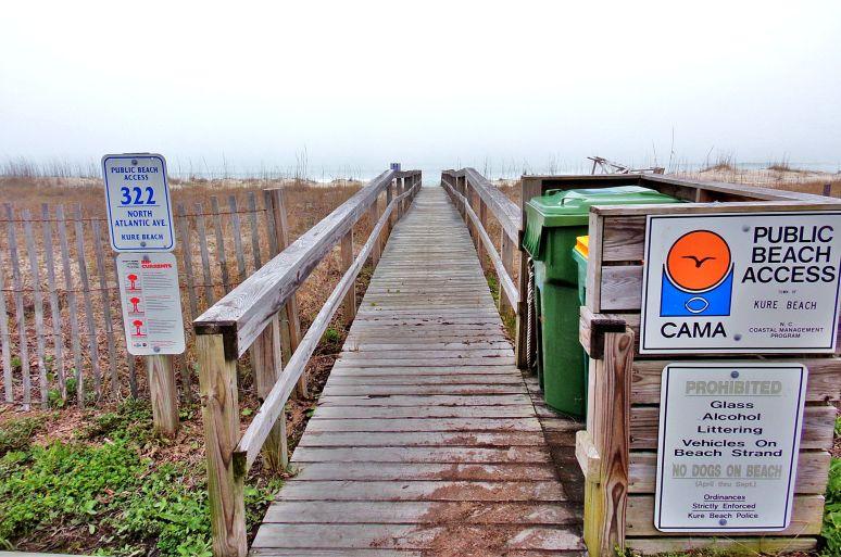 Kure Beach Walkways