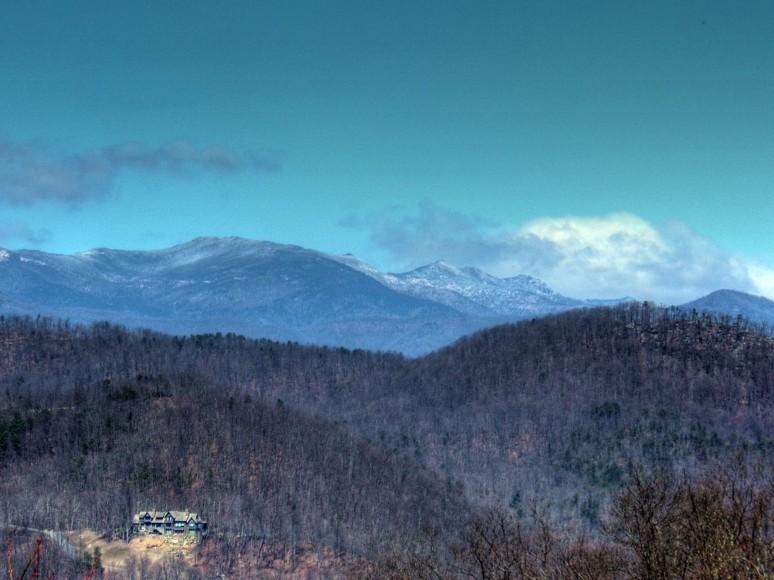 Mt Mitchell Snow