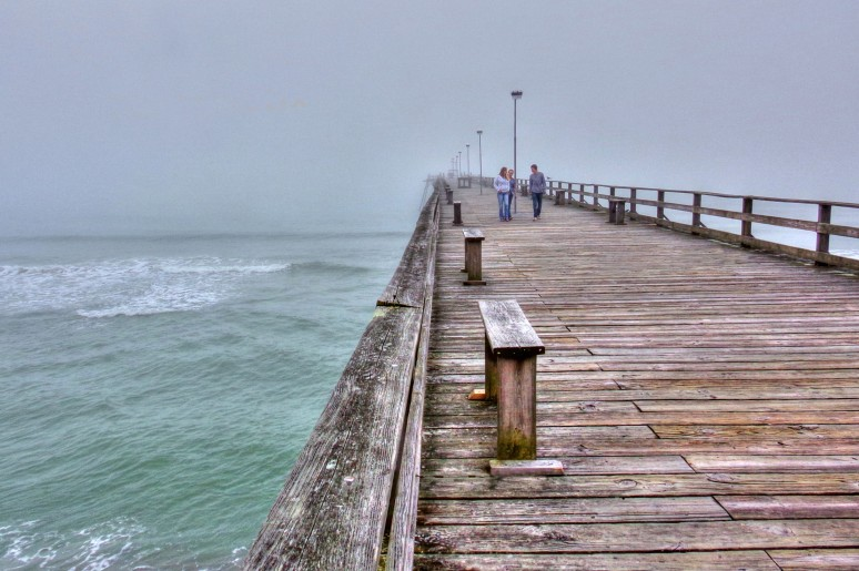Kure Beach Pier Benches