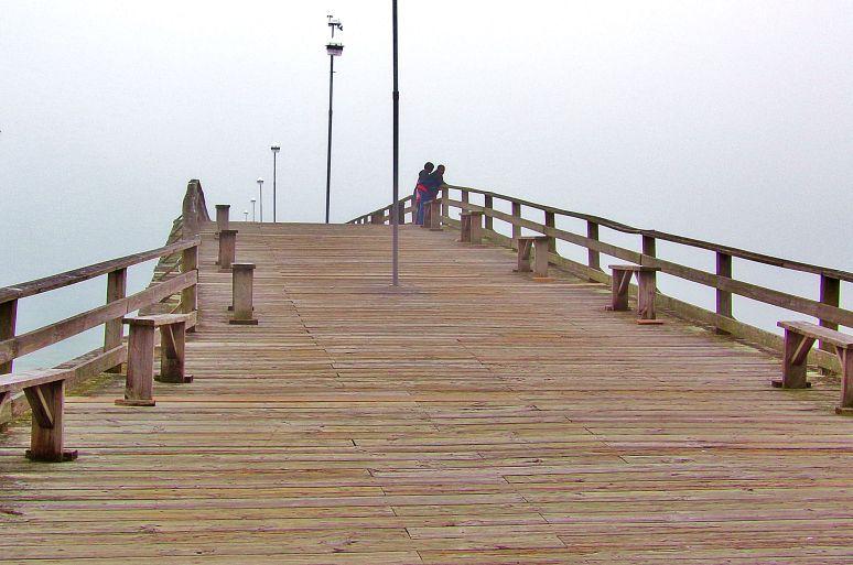 Kure Beach Pier Entrance