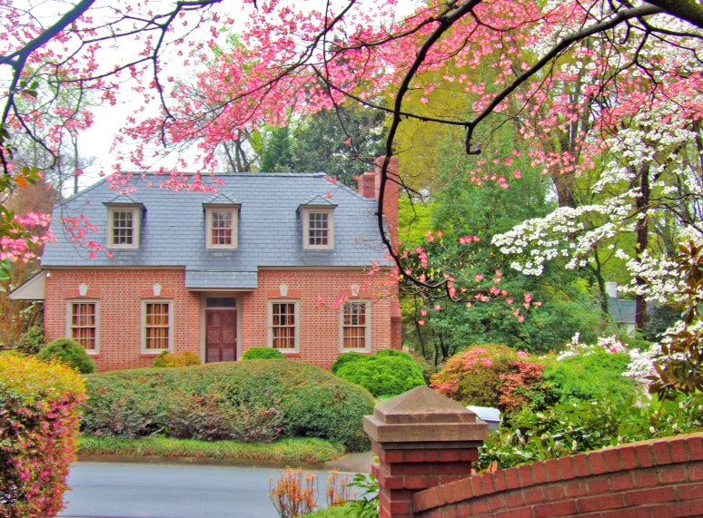 Historic charlotte in springtime living in the blue for Impression homes park ridge
