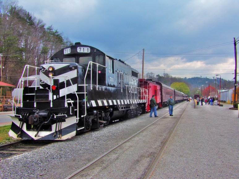 Smoky Mountains Railway Train
