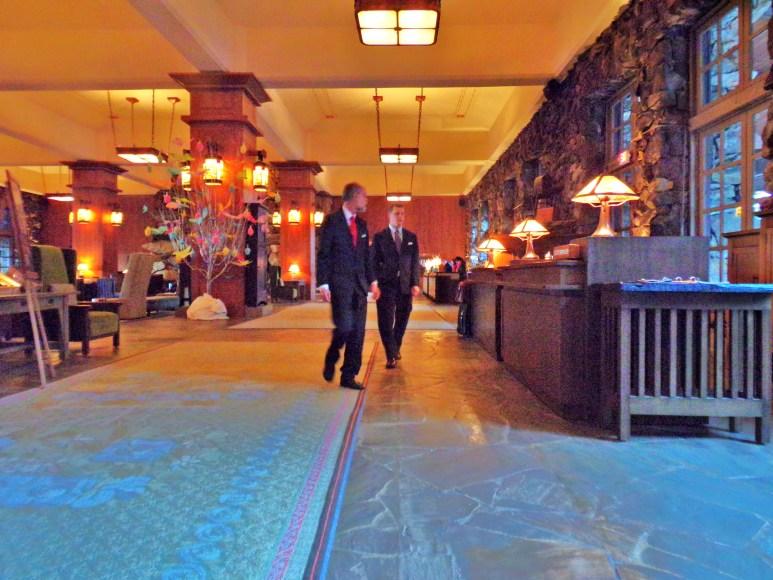 New Grove Park Inn lobby