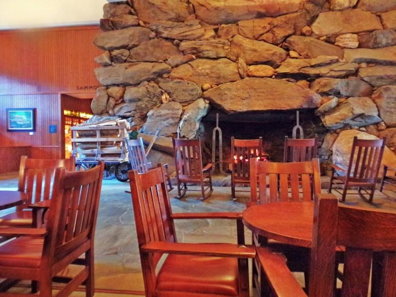 Grove Park Inn South Fireplace