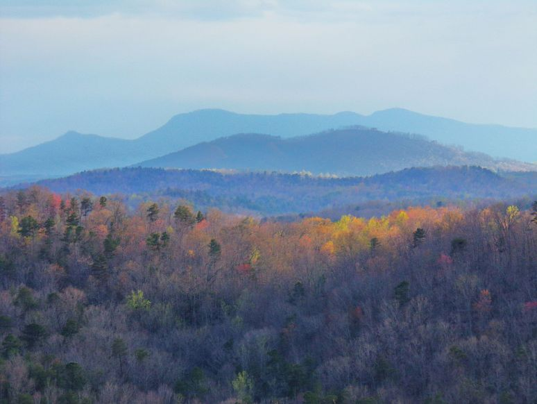 Tryon Mountain Ridges